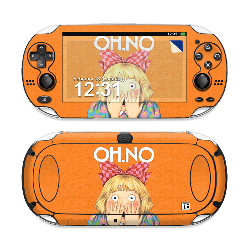 Oh No PS Vita Skin