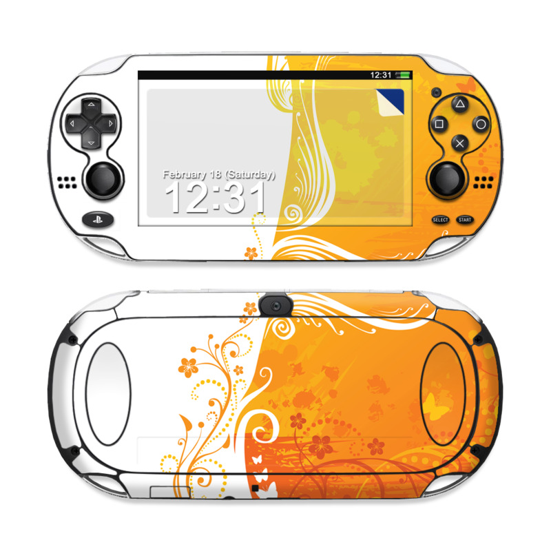 Orange Crush PS Vita Skin