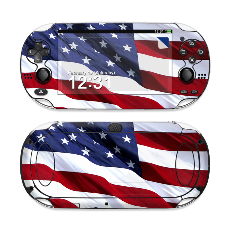 Patriotic Sony PS Vita Skin