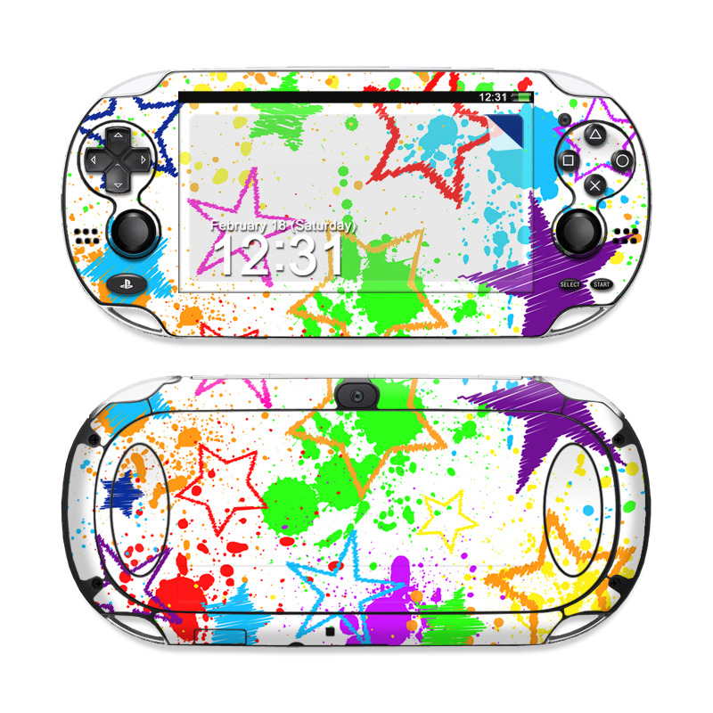Scribbles Sony PS Vita Skin