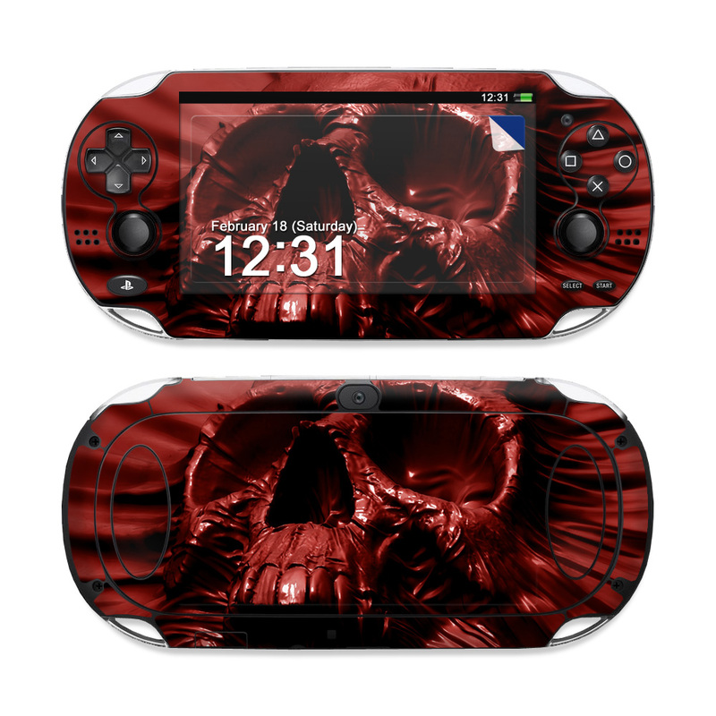 Skull Blood PS Vita Skin