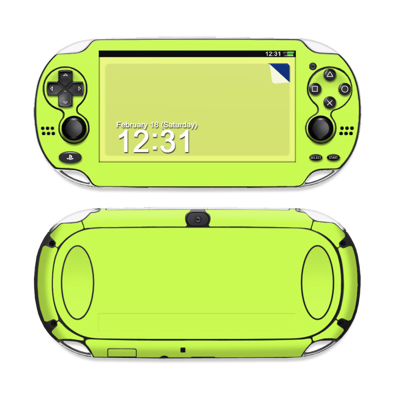 Solid State Lime PS Vita Skin