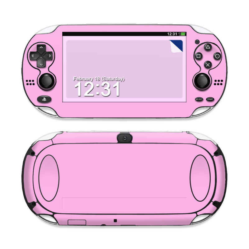 Solid State Pink Sony PS Vita Skin