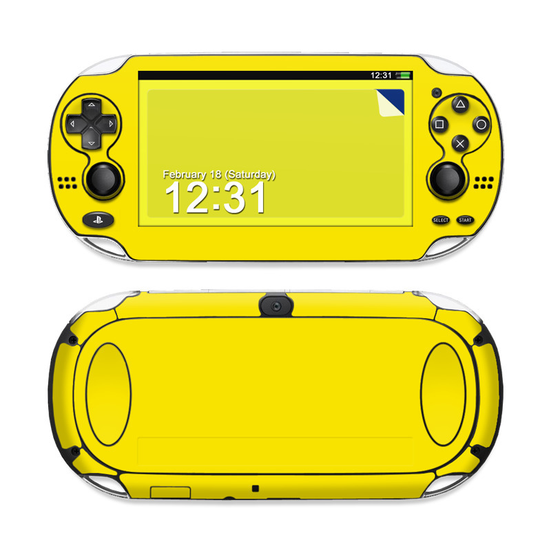 Solid State Yellow PS Vita Skin