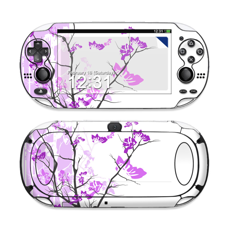 Violet Tranquility Sony PS Vita Skin