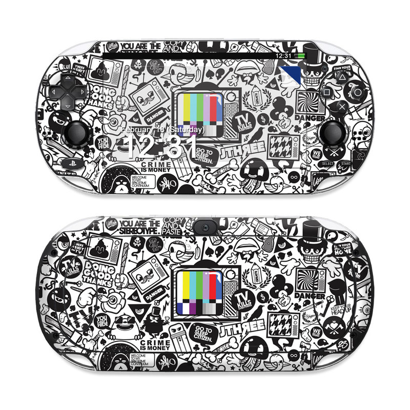 TV Kills Everything PS Vita Skin