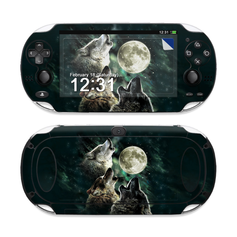 Three Wolf Moon PS Vita Skin