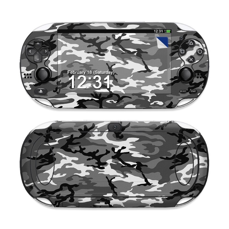 Urban Camo Sony PS Vita Skin
