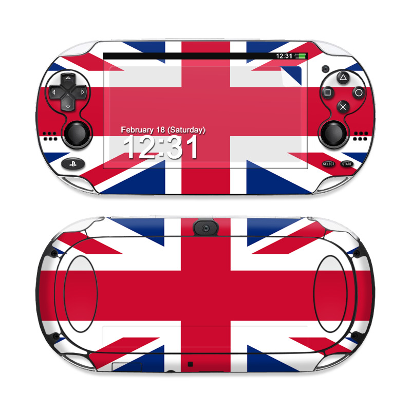 Union Jack Sony PS Vita Skin