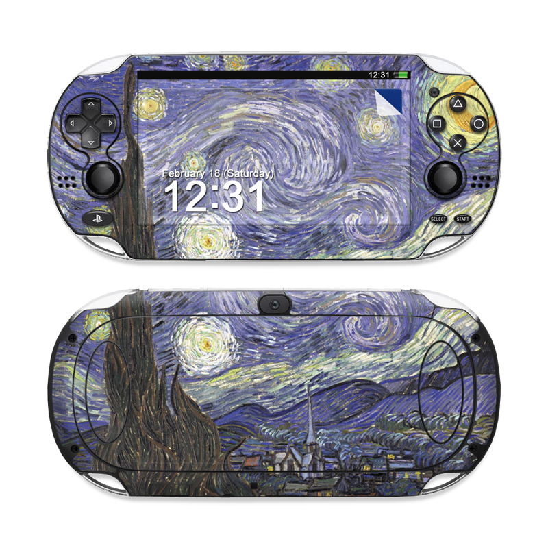 Starry Night Sony PS Vita Skin