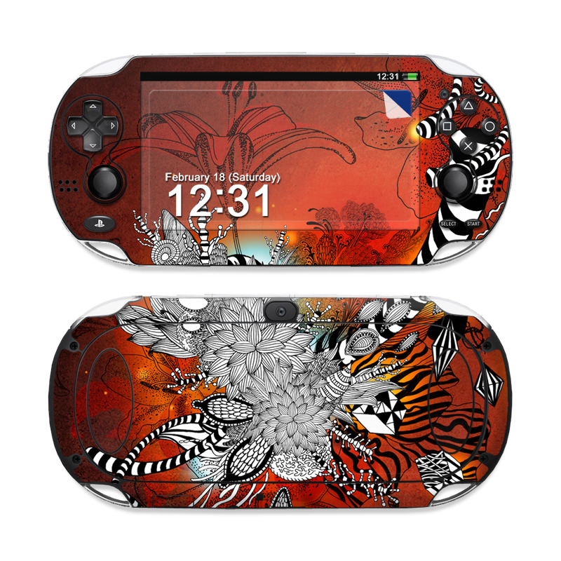 Wild Lilly Sony PS Vita Skin