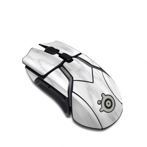 Bianco Marble SteelSeries Rival 600 Gaming Mouse Skin