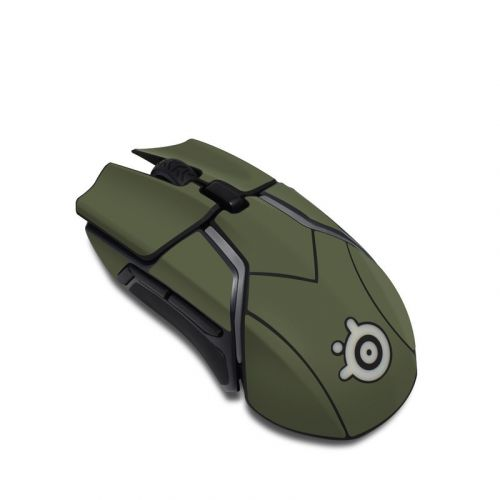 Solid State Olive Drab SteelSeries Rival 600 Gaming Mouse Skin