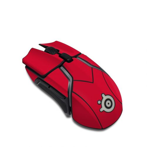 Solid State Red SteelSeries Rival 600 Gaming Mouse Skin