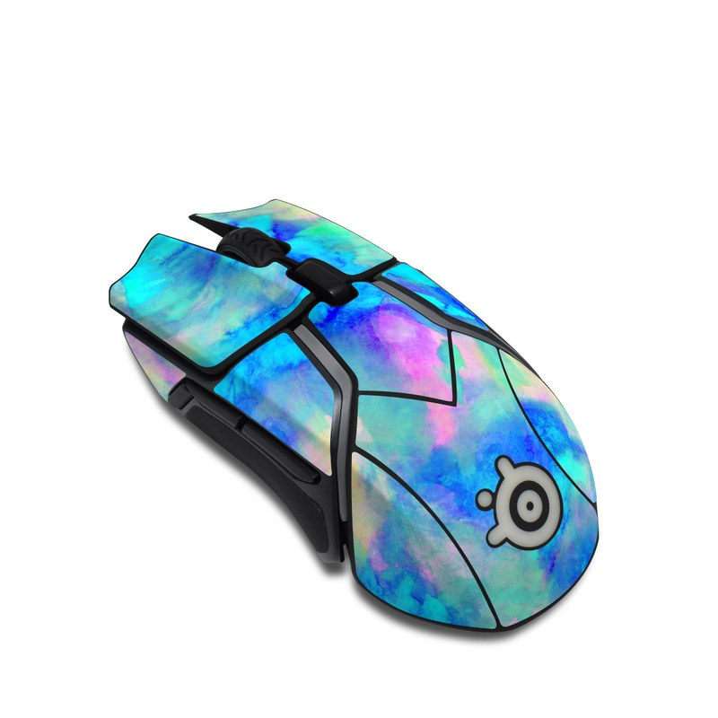 Electrify Ice Blue SteelSeries Rival 600 Gaming Mouse Skin