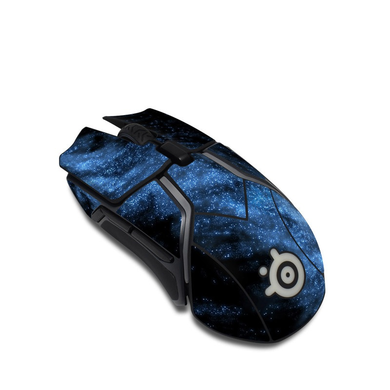 SteelSeries Rival 600 Gaming Mouse Skin design of Sky, Atmosphere, Black, Blue, Outer space, Atmospheric phenomenon, Astronomical object, Darkness, Universe, Space with black, blue colors