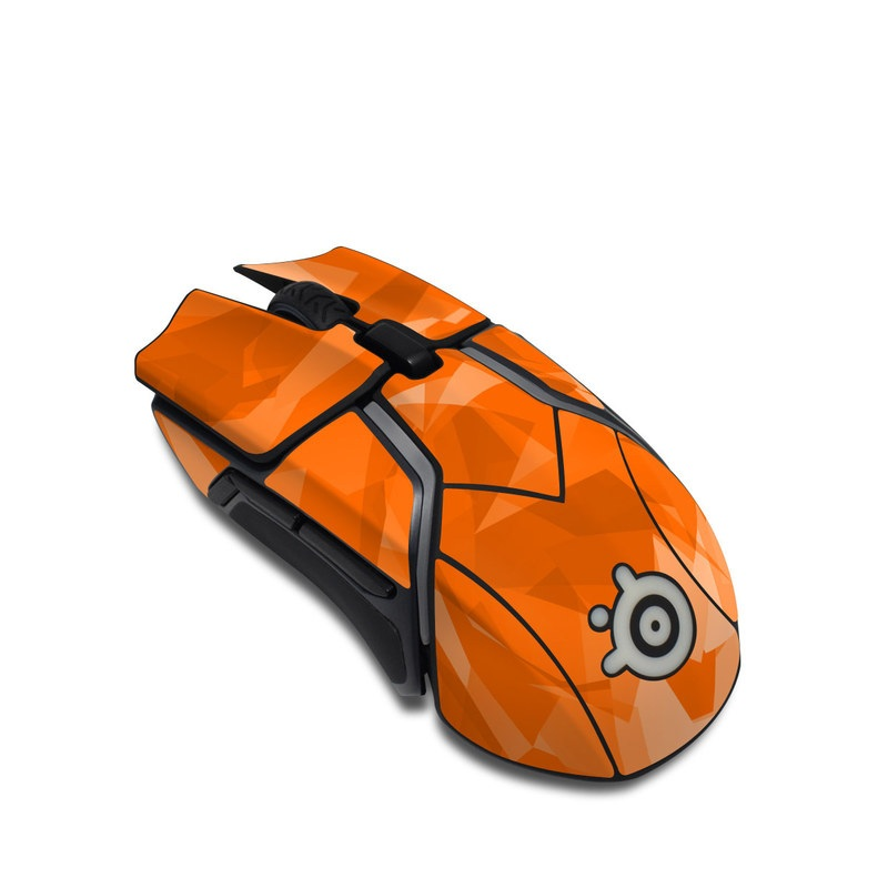SteelSeries Rival 600 Gaming Mouse Skin design with orange colors