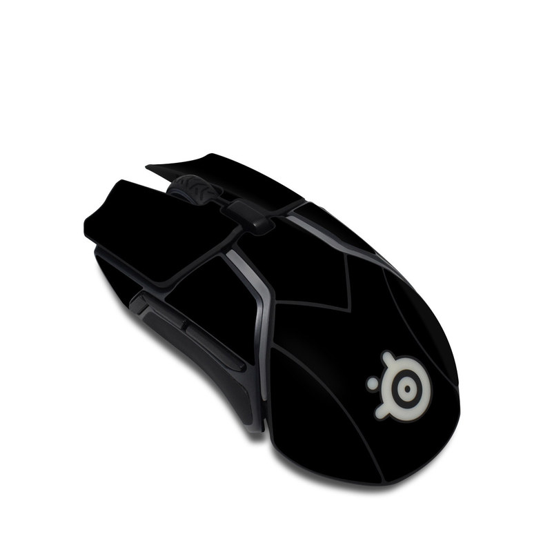 SteelSeries Rival 600 Gaming Mouse Skin design of Black, Darkness, White, Sky, Light, Red, Text, Brown, Font, Atmosphere with black colors