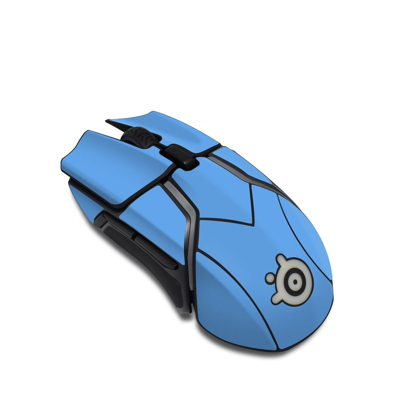 SteelSeries Rival 600 Gaming Mouse Skin design of Sky, Blue, Daytime, Aqua, Cobalt blue, Atmosphere, Azure, Turquoise, Electric blue, Calm with blue colors