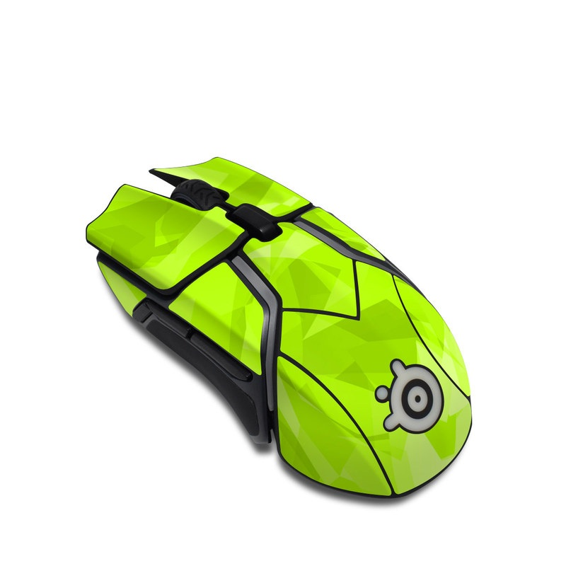 SteelSeries Rival 600 Gaming Mouse Skin design with green colors
