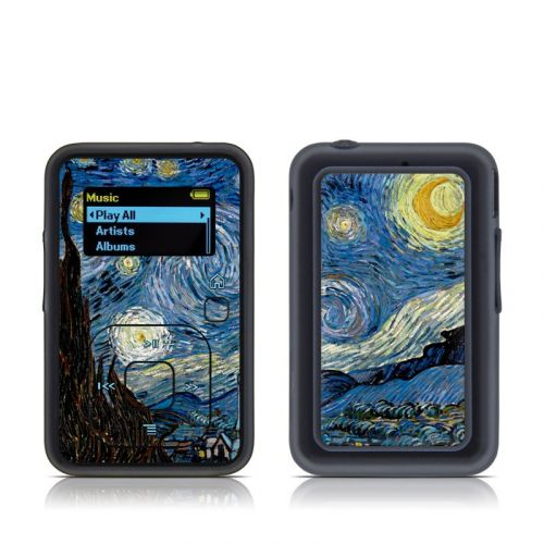 Starry Night SanDisk Sansa Clip+ Skin