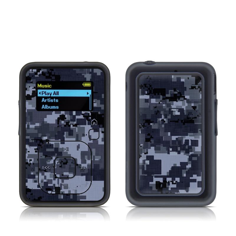 Digital Navy Camo SanDisk Sansa Clip+ Skin