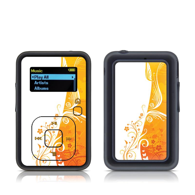 Orange Crush SanDisk Sansa Clip+ Skin