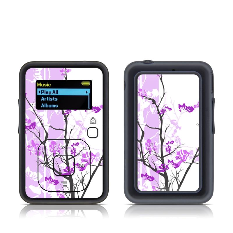 Violet Tranquility SanDisk Sansa Clip+ Skin