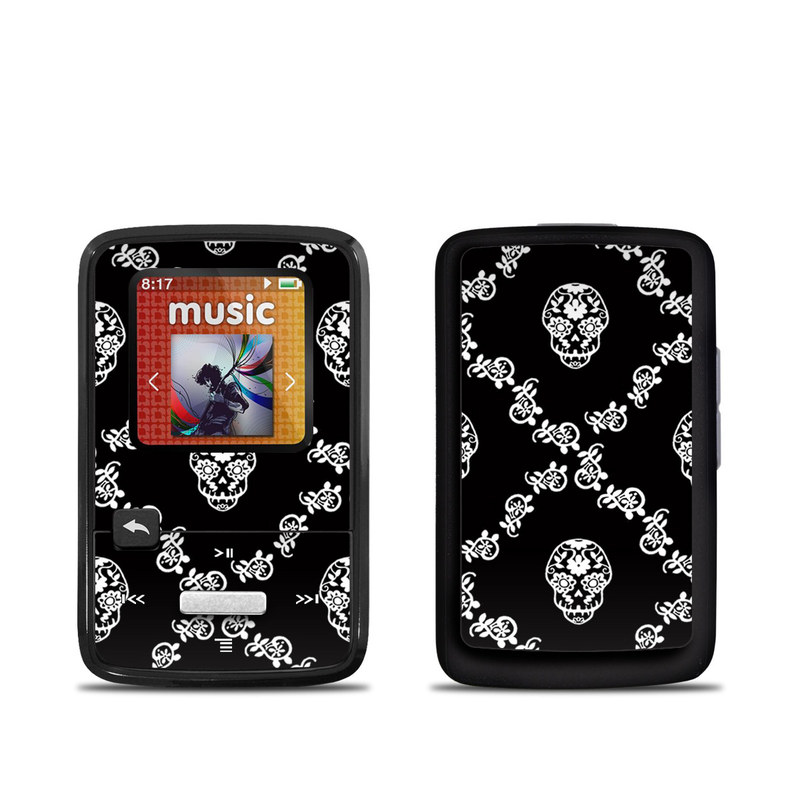 Calavera Lattice SanDisk Sansa Clip Zip Skin
