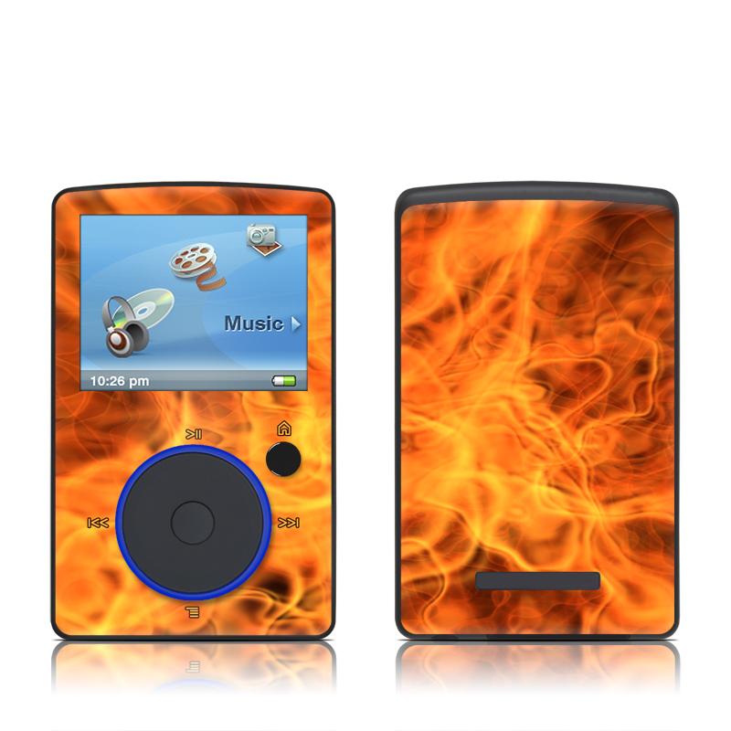 Combustion SanDisk Sansa Fuze Skin