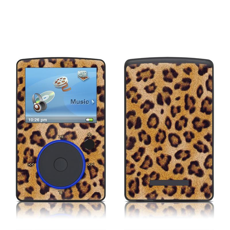 Leopard Spots SanDisk Sansa Fuze Skin