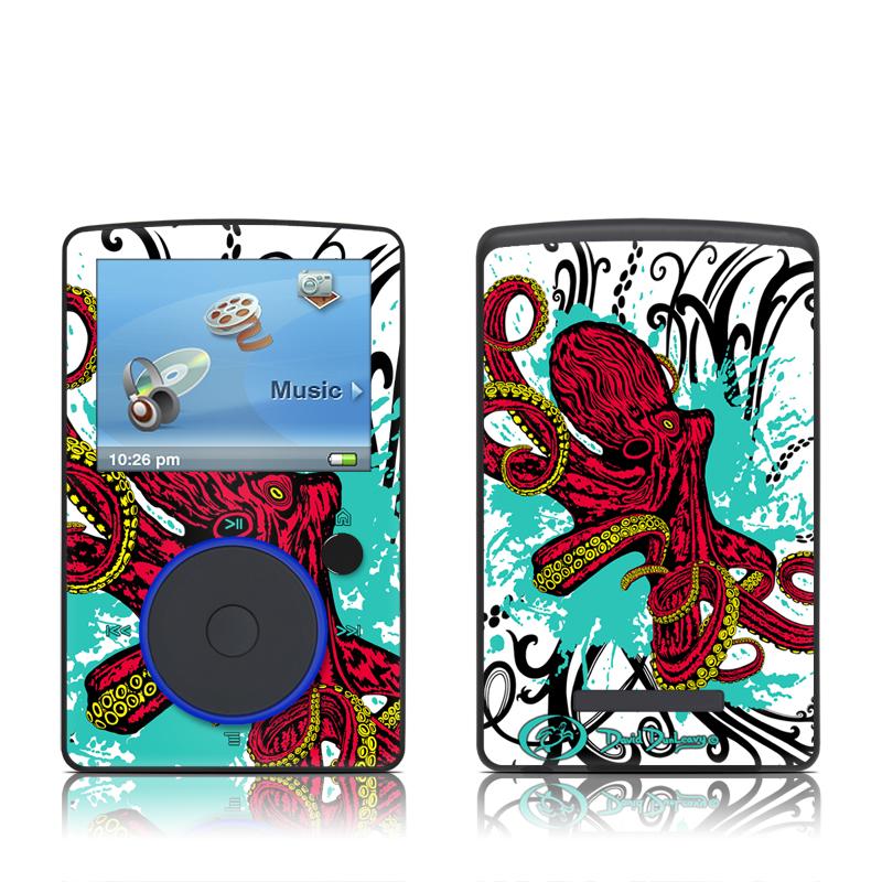 Octopus SanDisk Sansa Fuze Skin