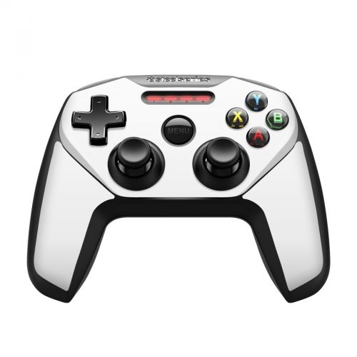 Solid State White SteelSeries Nimbus Controller Skin