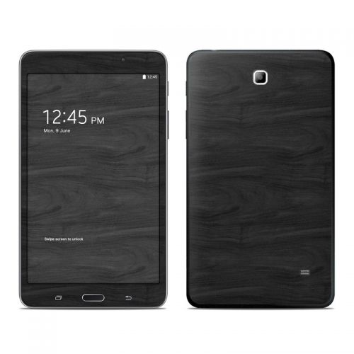 Black Woodgrain Galaxy Tab 4 (7.0) Skin