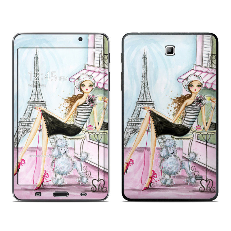 Cafe Paris Galaxy Tab 4 (7.0) Skin