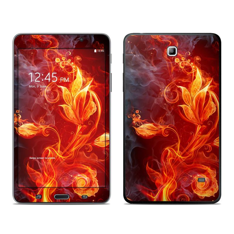 Flower Of Fire Galaxy Tab 4 (7.0) Skin