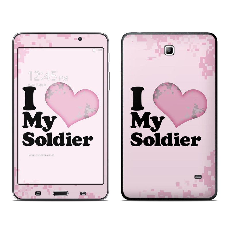 I Love My Soldier Galaxy Tab 4 (7.0) Skin