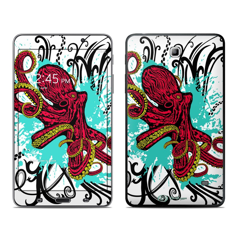 Octopus Galaxy Tab 4 (7.0) Skin