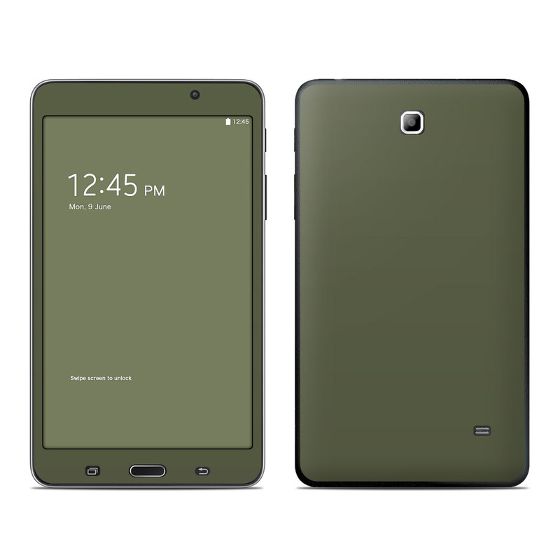 Samsung Galaxy Tab 4 7.0 Skin design of Green, Brown, Text, Yellow, Grass, Font, Pattern, Beige with green colors