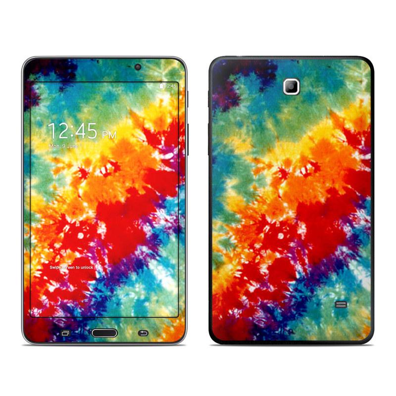Tie Dyed Galaxy Tab 4 (7.0) Skin