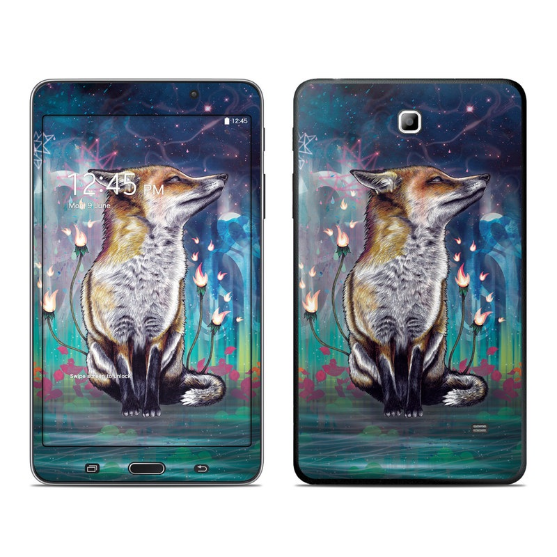There is a Light Galaxy Tab 4 (7.0) Skin
