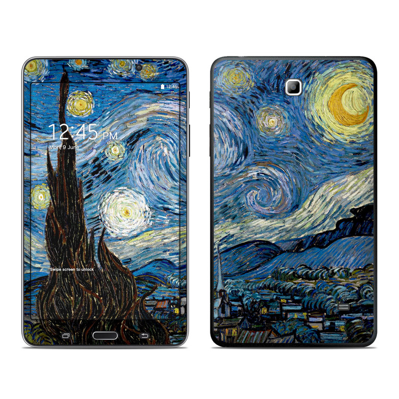 Starry Night Galaxy Tab 4 (7.0) Skin