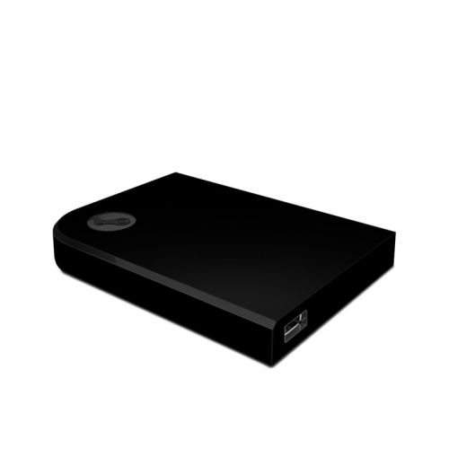 Solid State Black Valve Steam Link Skin