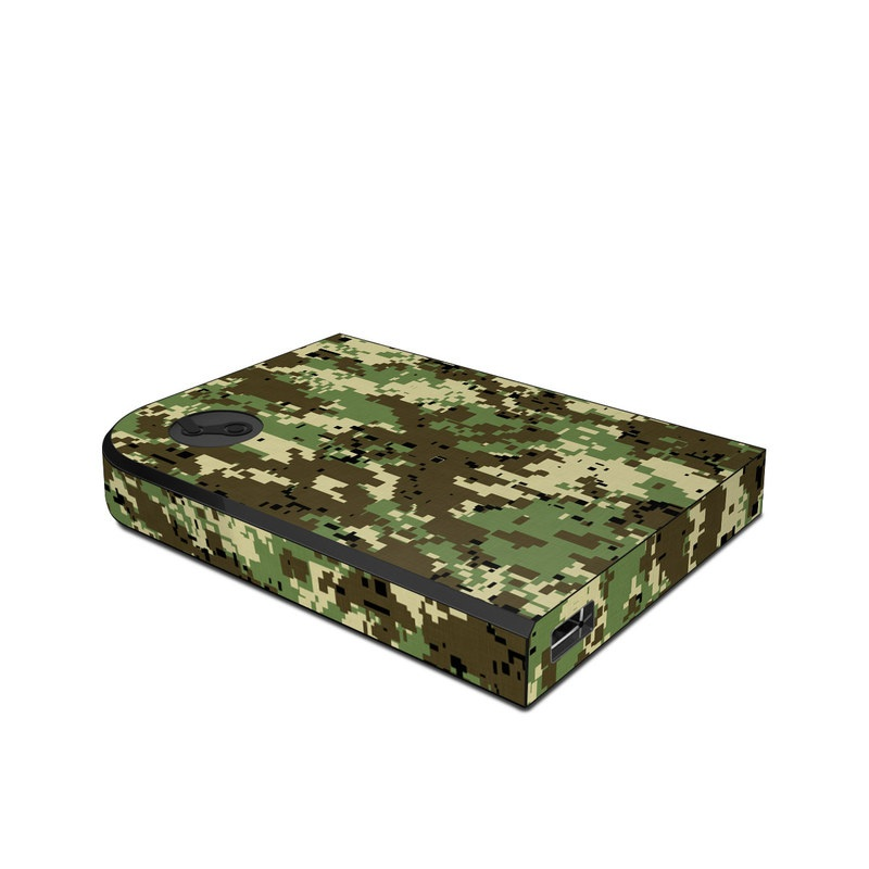 Digital Woodland Camo Valve Steam Link Skin
