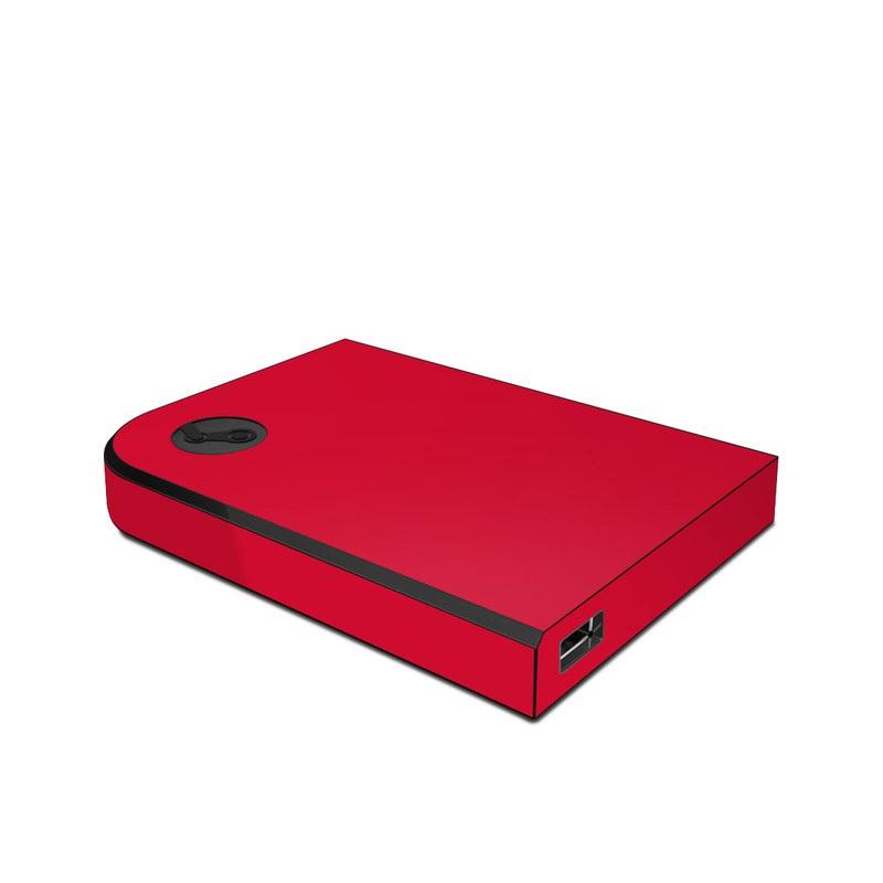 Solid State Red Valve Steam Link Skin