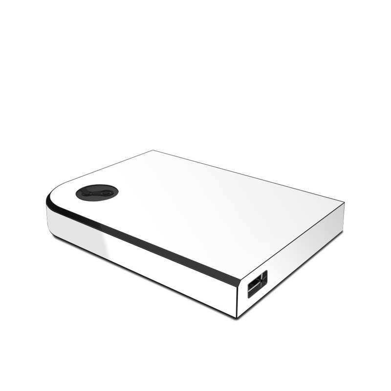 Valve Steam Link Skin design of White, Black, Line with white colors