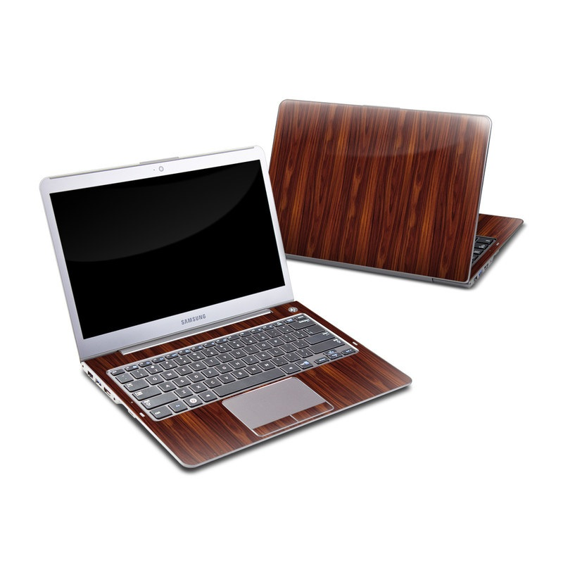 Samsung Series 5 13.3-inch Ultrabook Skin design of Wood, Red, Brown, Hardwood, Wood flooring, Wood stain, Caramel color, Laminate flooring, Flooring, Varnish with black, red colors