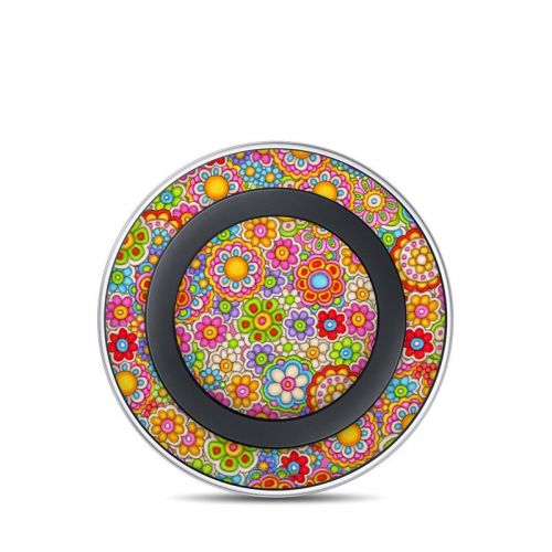 Bright Ditzy Samsung Wireless Charging Pad Skin