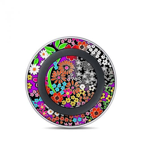 A Burst of Color Samsung Wireless Charging Pad Skin