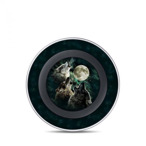 Three Wolf Moon Samsung Wireless Charging Pad Skin
